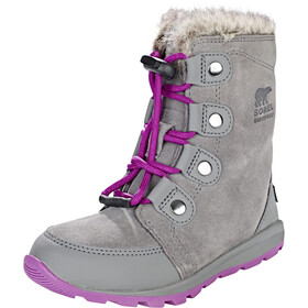 Sorel Whitney Joan Stivali Bambino, quarry/raspberry